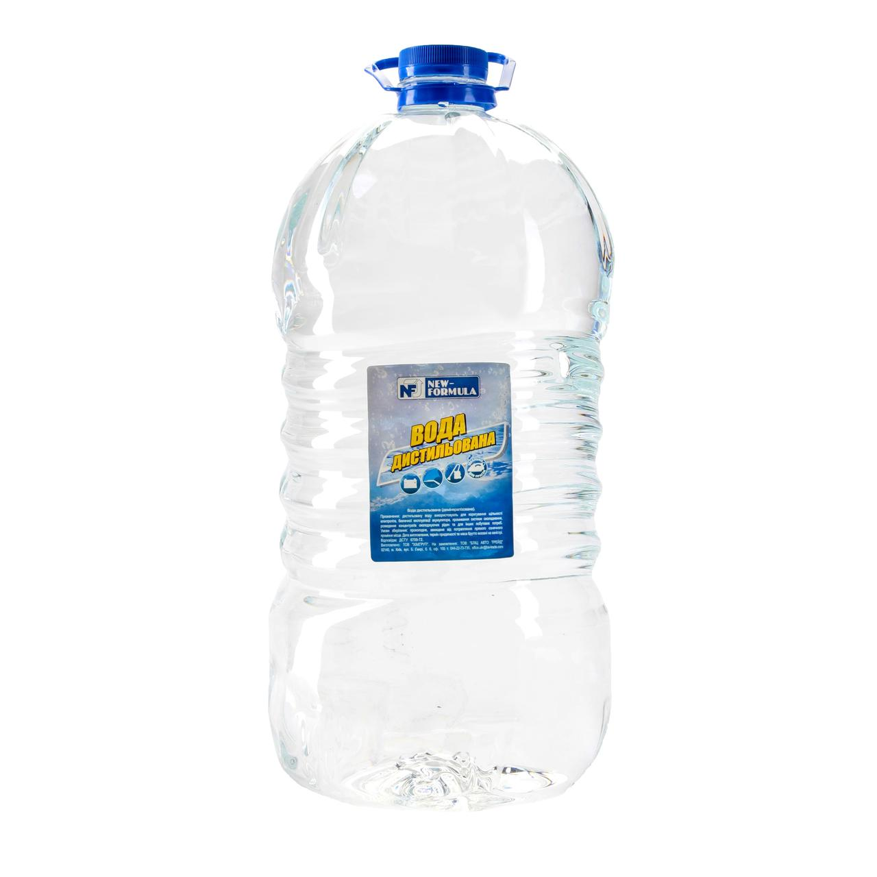 Вода дистиллированная New-Formula 10л