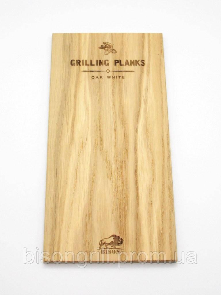 Дубовые планки для гриля BisonGrill  (2 шт)  250х15 см