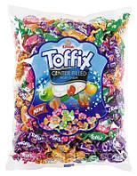 Жевательные конфетки Toffix mix 1кг. ТМ Lord
