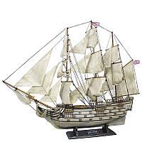 Декоративный парусник Sea Club 550184 86х74 см. деревянный