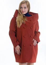 Пальто женское №14 (рыжий)