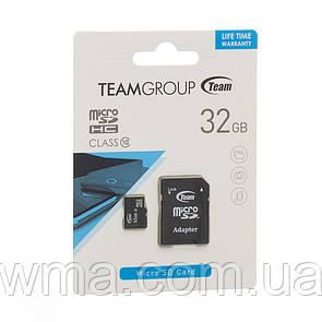 Карта Памяти Team Elite MicroSD 32gb 10 class