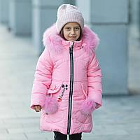 """Зимняя куртка для девочки """"Бубочка"""", фото 1"""