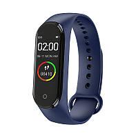 Фитнес-браслет Smart Bracelet M4 (blue) - Защита IP67