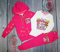Детский костюм на флисе LOL 4-5 лет (003913)