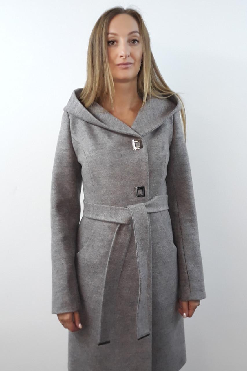 Пальто женское №57 (серый)