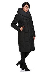 Пуховик женский 8535-1 (чёрный)