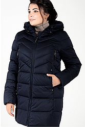 Куртка зимняя женская 756-8 (тёмно-синий)