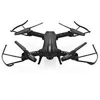 Квадрокоптер складной с камерой L6060W р/у, 2,4G, аккумулятор, 35,5 см, свет