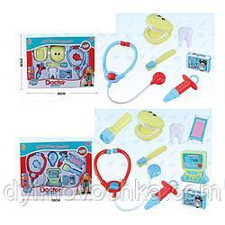 Игрушка Доктор 882-5-6 мед.инстументы, стетоскоп, 2 вида(1в-стоматолог)