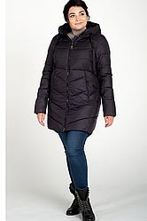 Куртка зимняя женская 207-21 (баклажан)
