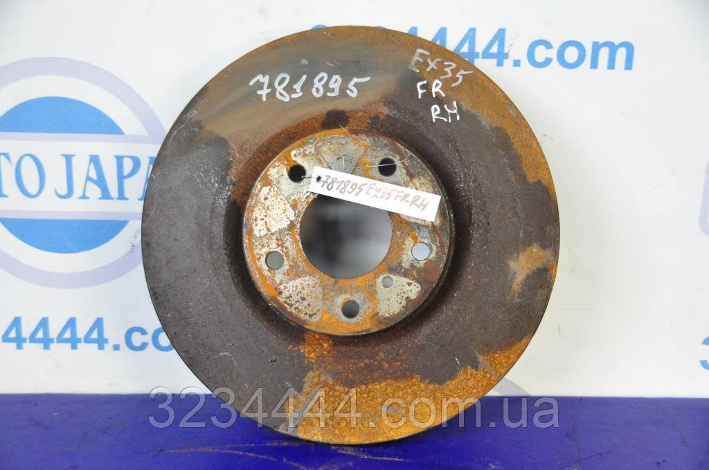 Диск гальмівний передній INFINITI EX35(37) 07-12
