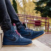 Кроссовки Nike Lunar Force 1 Duckboot 17 Blue