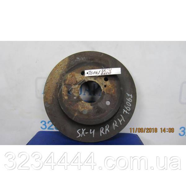 Диск тормозной задний SUZUKI SX4 06-13