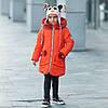 "Зимняя куртка для девочки ""Бонни"" + шарф-хомут"