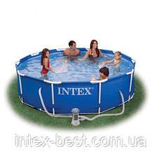 Intex 28212 (56996) - каркасный бассейн Metal Frame 366x76 см, фото 2