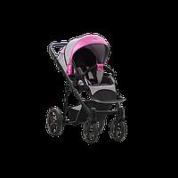 Коляска прогулочная Bebetto Nico Shine 04 цвет Серый с розовым