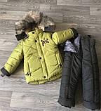 Зимняя теплая   куртка и полукомбинезон  для мальчика, фото 6