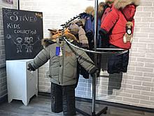 Зимние теплые куртки и полукомбинезон  для мальчиков 1-4 года