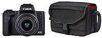 Фотоаппарат CANON EOS M50 + Объектив 15-45mm + Сумка + Карта памяти, фото 1
