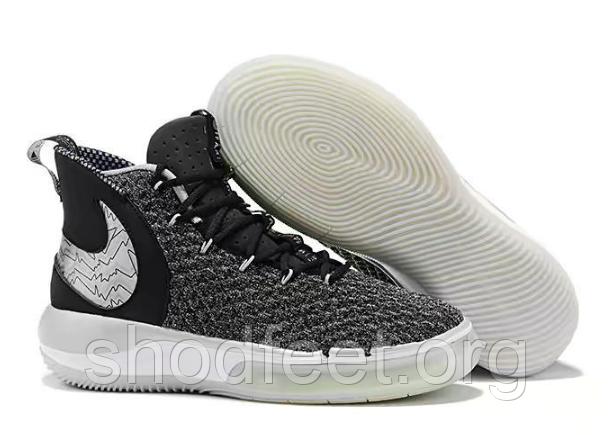 Баскетбольные кроссовки Nike AlphaDunk Pure Magic Black Grey