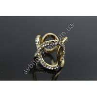 Кольцо-зажим для платка или шарфа-палантина