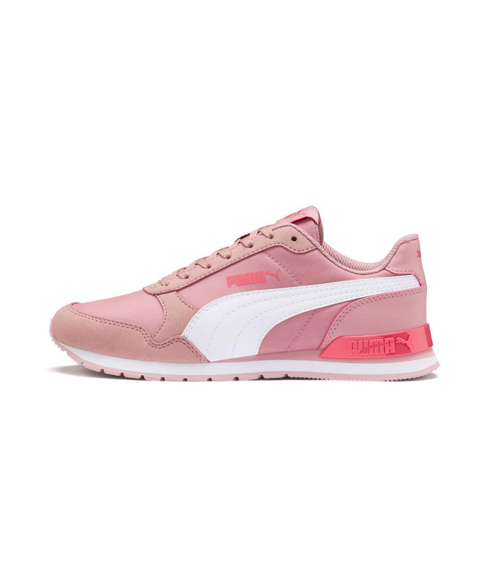 Розовые женские кроссовки Puma для бега ST Runner v2 NL Sneakers JR