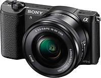 Фотоаппарат SONY Alpha a5100 (ILCE-5100) Black + Объектив 16-50mm + 55-210mm