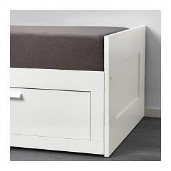ИКЕА (IKEA) GRONG, 303.698.26, Чехол на диван, темно-серый - ТОП ПРОДАЖ