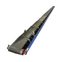 Конвейер Транспортер ленточный желобчатый с шевроном 20 метров, фото 1
