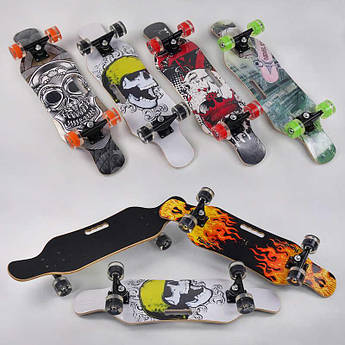 "Скейтборд (Scate Board) с подсветкой ""Граффити"" (ассортимент)"