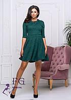Короткий женксое сукню з ангори, фото 1