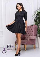 Женское платье беби-долл из ангоры, фото 1