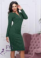 Платье с длинным рукавом из ангоры