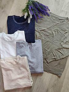 Женский свитер с люрексом. Размер универсальный. Фабричный Китай
