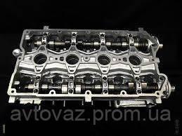 Головка блока цилиндров, ВАЗ 2110, 2112, Приора, Калина, Гранта V-1600 16 кл.с клапанами, распредвалами и гидр