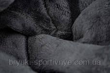 Лосины женские зимние на меху - Широкий пояс M - 4XL, фото 3