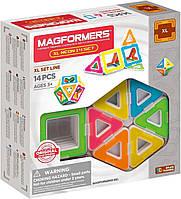 Magformers Магнитный конструктор Неон 14 деталей 703003 XL Neon