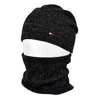 Комплект шапка+баф SP1901 черный