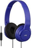Наушники накладные JVC HA-S185 Blue