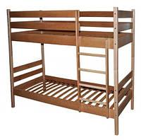 Кровать двухъярусная трансформер из бука. Babygrai