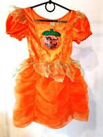 Карнавальный костюм Девочка Тыква 3-4 года
