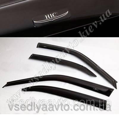 Дефлекторы окон на Skoda Yeti с 2009- (HIC)