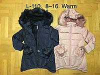 Куртки зимние на меху для девочек F&D 8-16 лет, фото 1