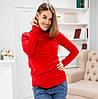 778 Водолазка красная для беременных