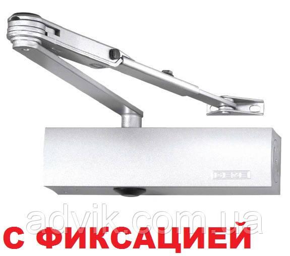 Доводчик Geze TS 2000 V ВС с фиксацией (белый)
