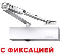 Доводчик Geze TS 2000 V ВС с фиксацией (белый), фото 1
