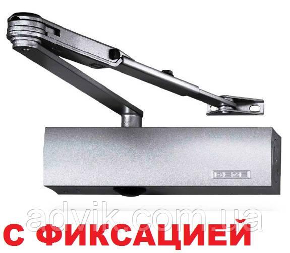 Доводчик Geze TS 2000 V ВС с фиксацией (серый)