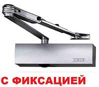 Доводчик Geze TS 2000 V ВС с фиксацией (серый), фото 1