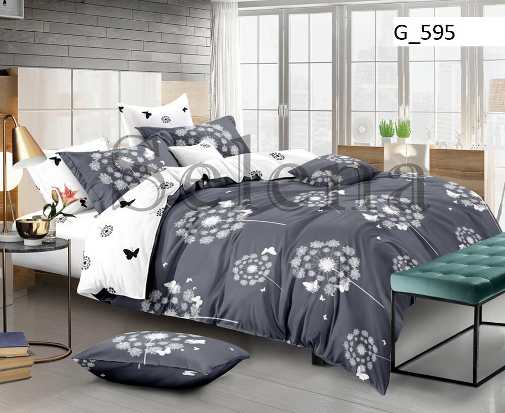 Семейный комплект постельного белья Одуванчик